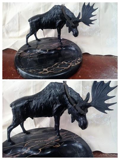Bronze Elch