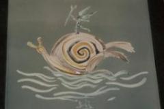Dali Schnecke Keramik
