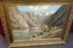 Gemälde Waldsee