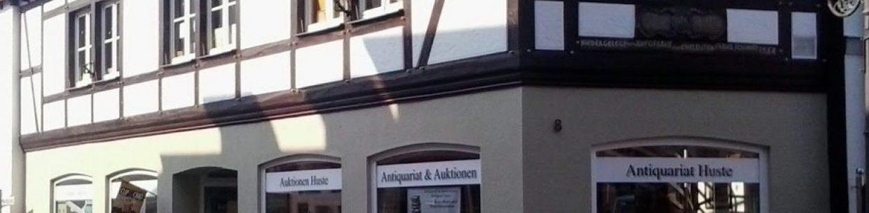Antiquariat & Auktionshaus Wolfgang Huste