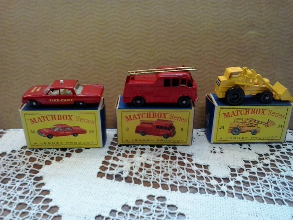 Matchbox 3 Autos