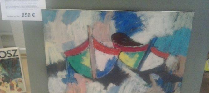 """Gemälde """"2 Fischerboote"""" von Arrigo Wittler"""