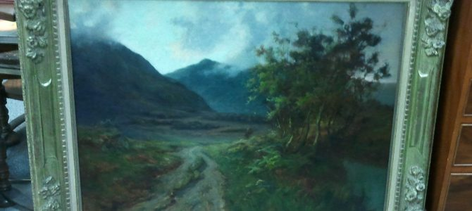 Gemälde von Charles Henry Malcolm Kerr