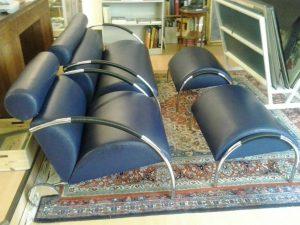 Sessel und Sofa Garnitur