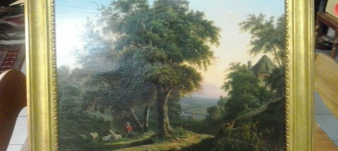 Biedermeiergemälde, um 1820