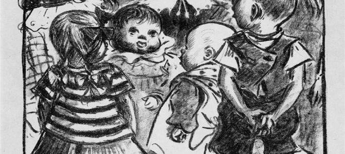 """Heinrich Zille, """"Singende Kinder"""""""