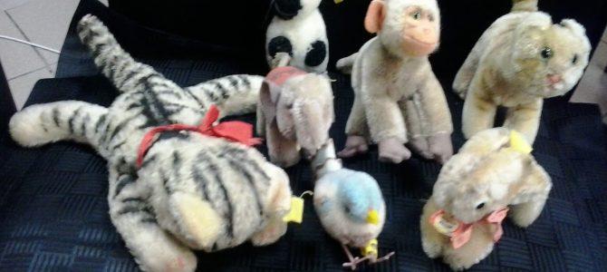 Konvolut von 7 kleinen Steifftieren
