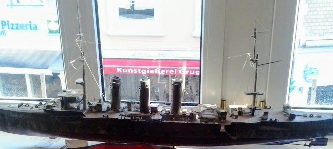 Schiffmodel der SMS Emden