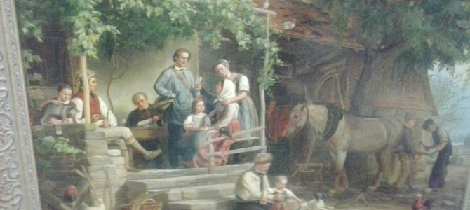 NEU EINGETROFFEN: Diverse Gemälde und Objekte