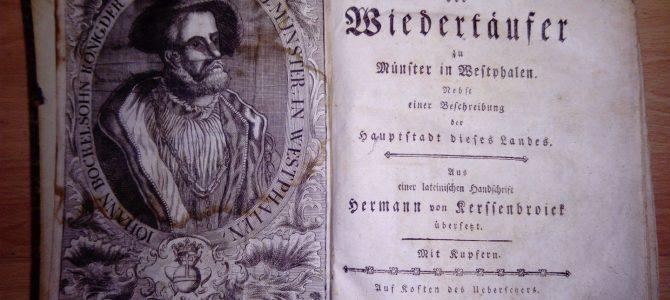 Kerssenbroick, Hermann (Übersetzer). Geschichte der Wiedertäufer von 1771