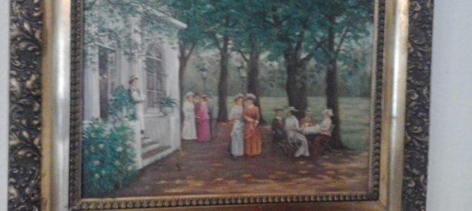 Romantisches Gemälde