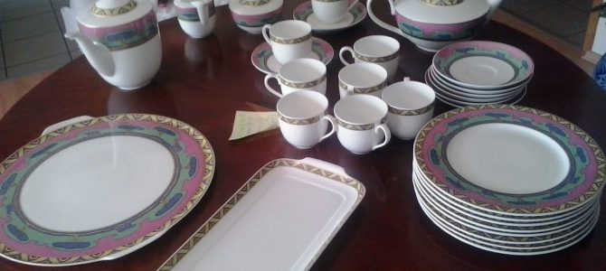 Kaffee- und Teeservice von Villeroy & Boch für 8 Personen/ 30 Teile