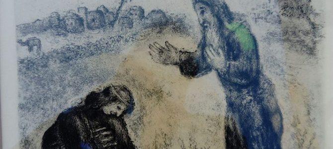 Aquatintaradierung von Marc Chagall