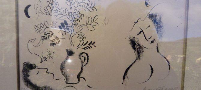 Original – Lithographie von Marc Chagall