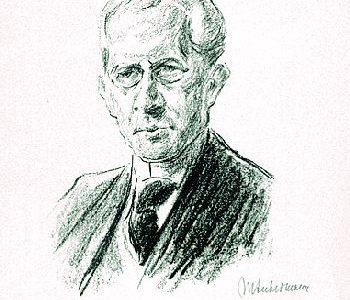 """Max Liebermann """"Bildnis Arno Holz"""""""