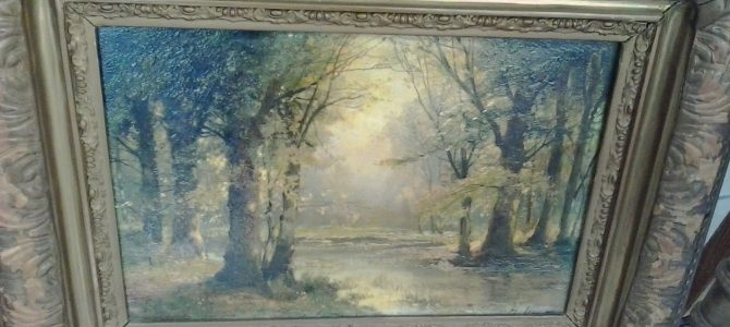 """Unser Angebot des Tages: zwei Gemälde von G. Fischhof, Pseudonym """"R. Ducat"""""""