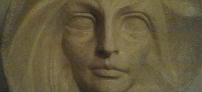 """Skulptur """"Der Morgen"""" von Walther Kniebe (Dortmund 1884 – 1970 Bad Honnef)"""