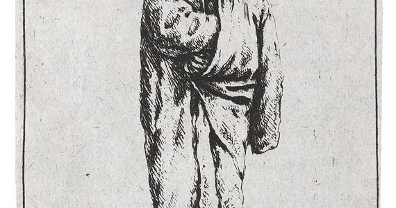 Adriaen van Ostade (1610 – 1685). Der Bauer im Mantel. 1638.