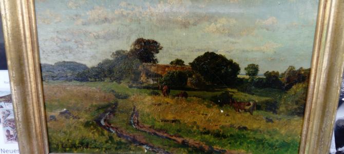 Landschaftsgemälde von Prof. Otto Günther- Naumburg (1856 – 1941)