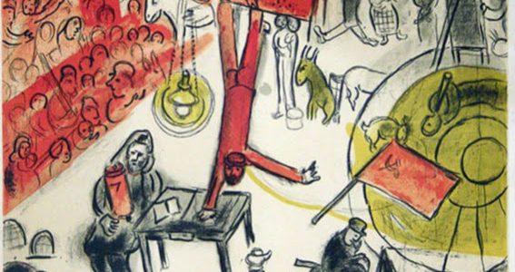 """Neu eingetroffen: Marc Chagall """"La Revolution 63"""" VERKAUFT!"""