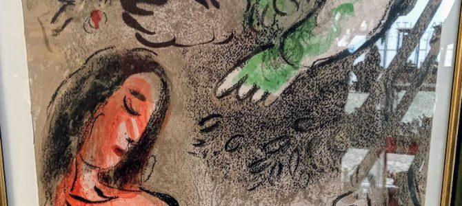 """Marc Chagall: """"Eva wird von Gott verdammt"""""""